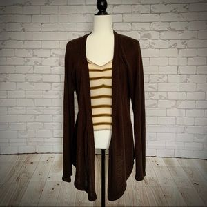 4 for $20 🖤 REITMANS Brown Chunky Knit Cardigan